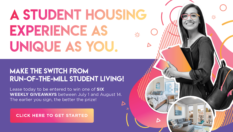 Student housing as unique as you